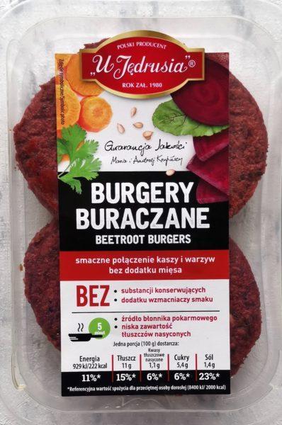 wegański blog burgery buraczane