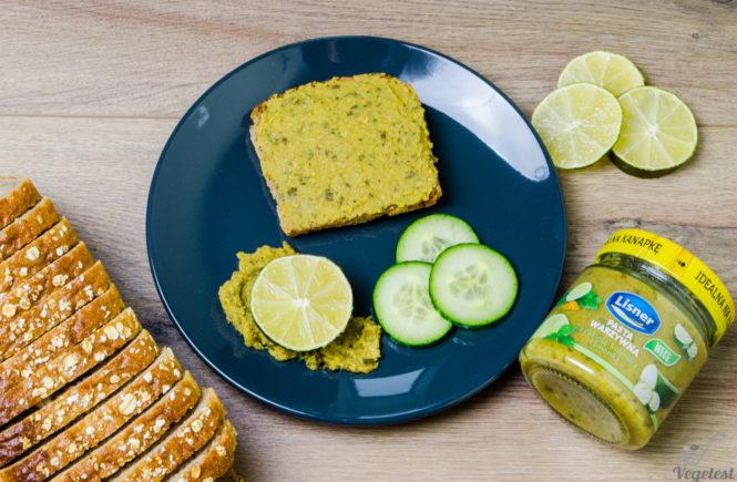 wegański blog lisner pasta