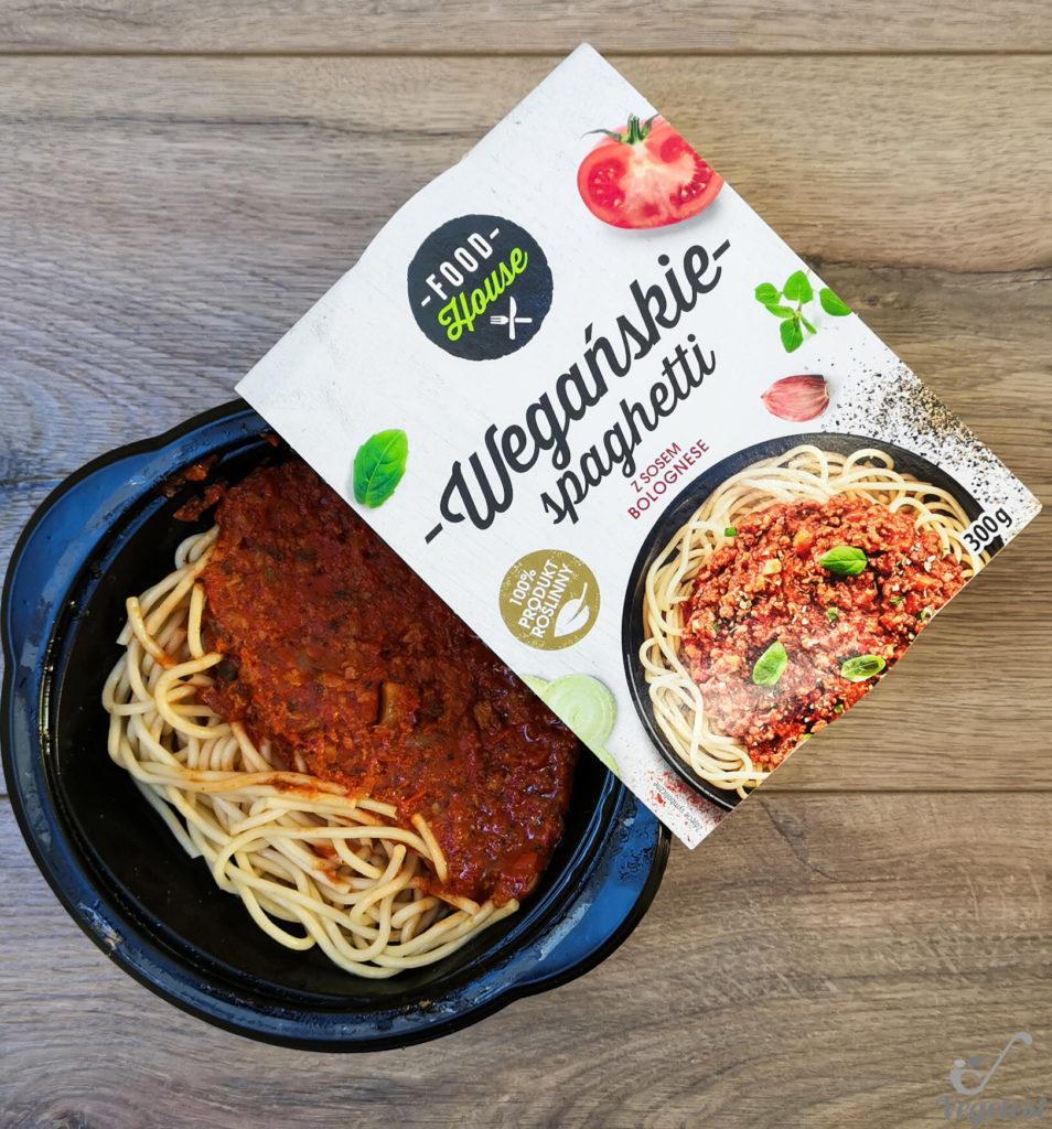 wegański blog spaghetti wegańskie