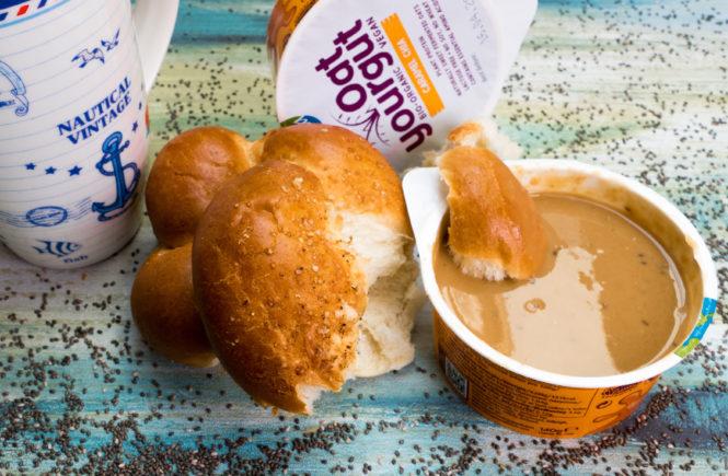 wegański blog caramel chia oat yourgut