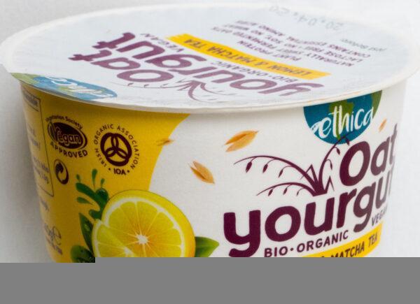 wegański blog Oat Yourgut Lemon & Matcha Tea