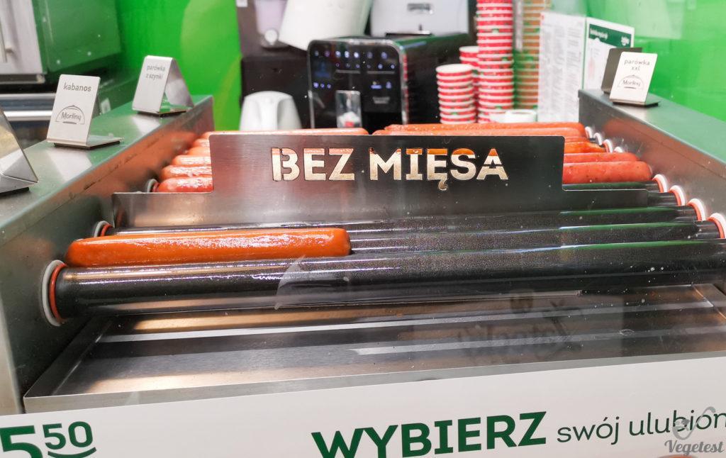 blog wegański hot dog bez mięsa żabka