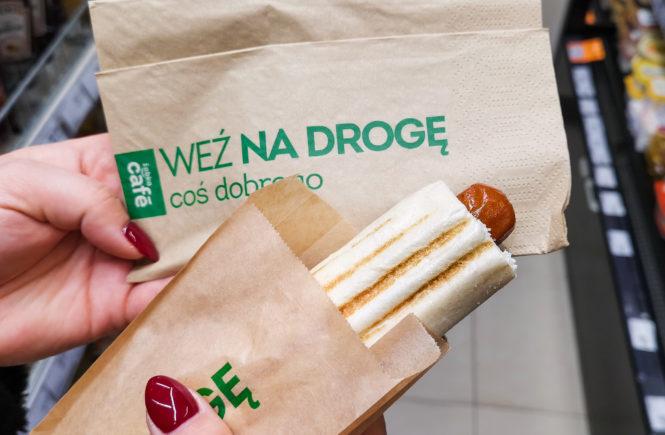 wegański blog hot-dog bez mięsa żabka