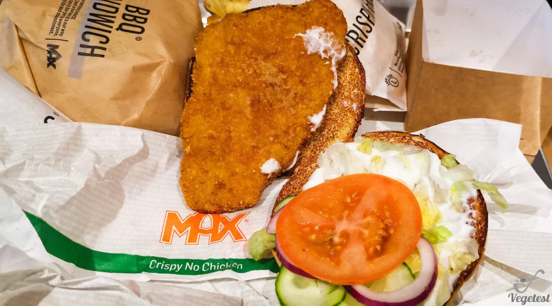 Max Burger. Chrupiący Wege Burger