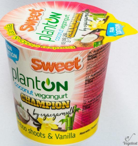 Palnton na blogu wegańskim