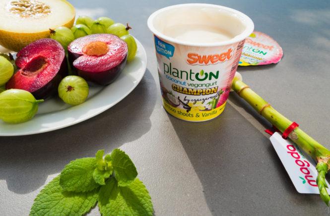 Planton sweet na blogu wegańskim