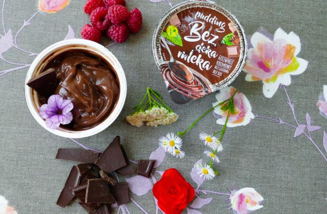 pudding czekoladowy na blogu wegańskim test