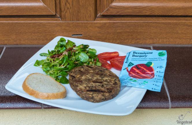 blog wegański test burgerów