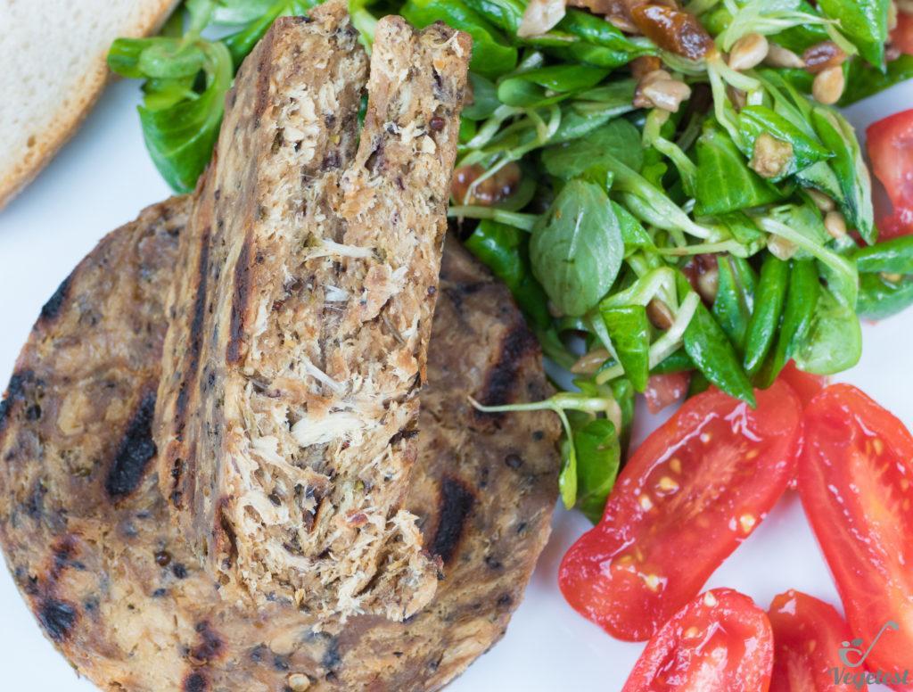 bezmięsne burgery na wegańskim blogu