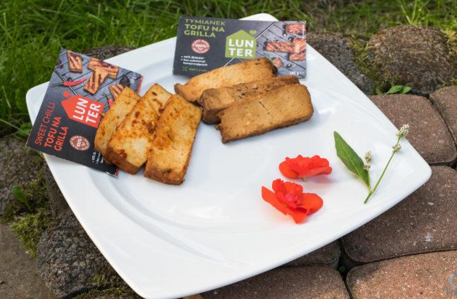 wegański blog tofu na grilla
