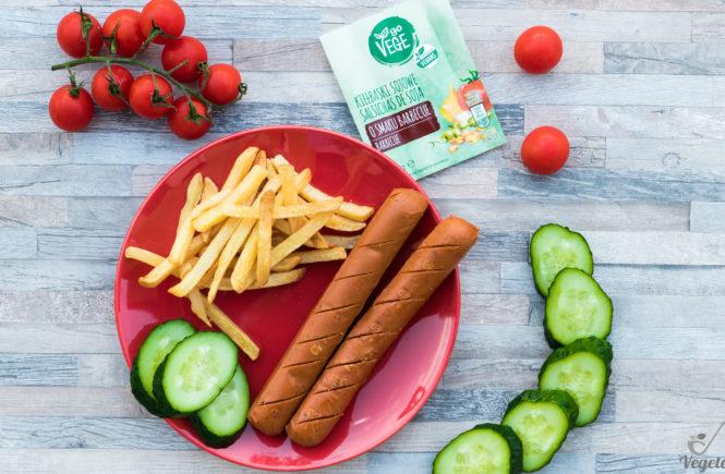 wegański blog test kiełbasek barbecue