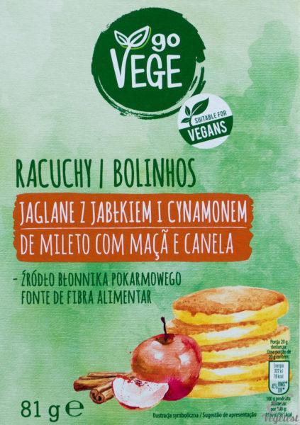 wegański blog racuchy jaglane