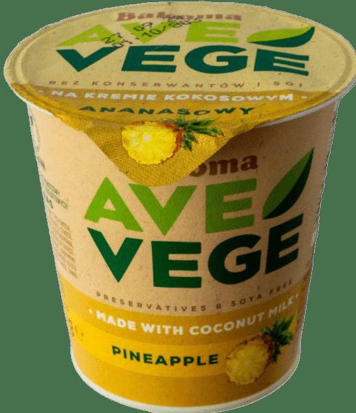 wegański blog ave vege ananas