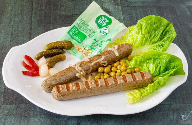 blog wegański biała kiełbasa z biedronki