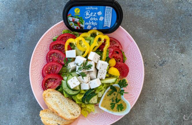 wegański blog testujący ser wegański