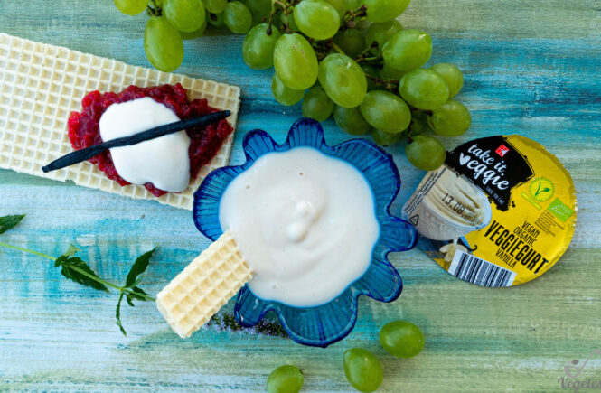 veggiegurt vanilla wegański blog testujący