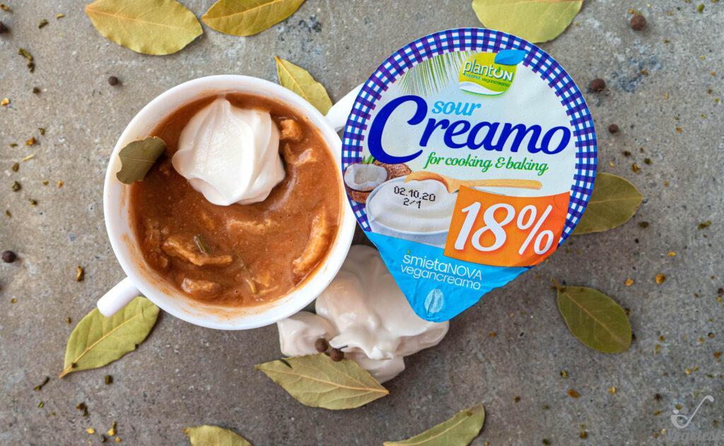 wegański blog cremao 18%