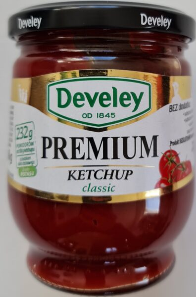 Devely. Ketchup Premium Classic