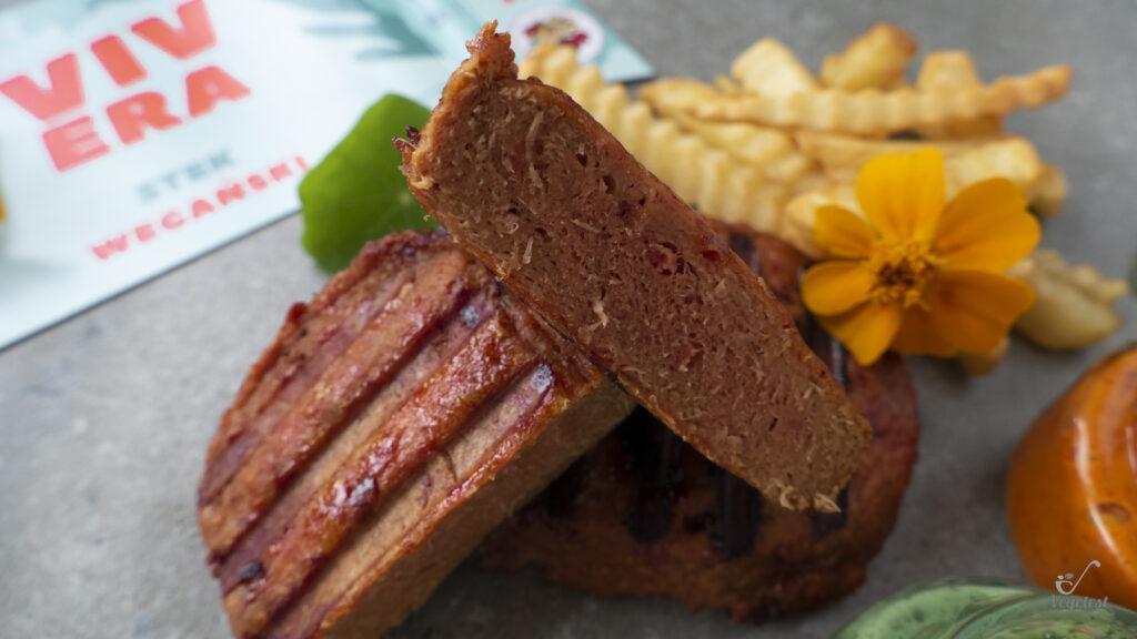 blog wegański stek wegański