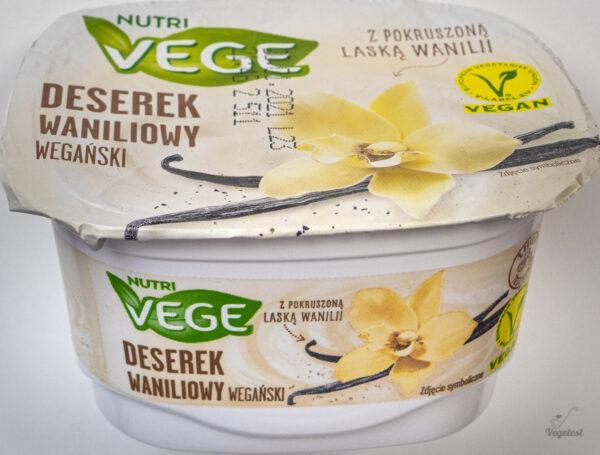 blog wegański deserek waniliowy wegański