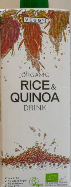 napój ryżowy quinoa