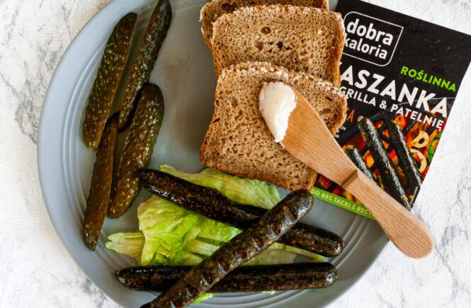 blog wegański kiełbaski wegańskie