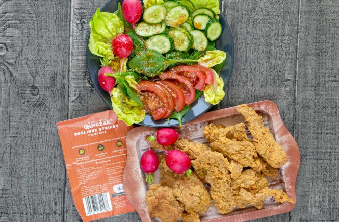 blog wegański kurczak roślinny