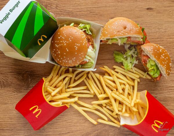 McDonald's. Veggie burger