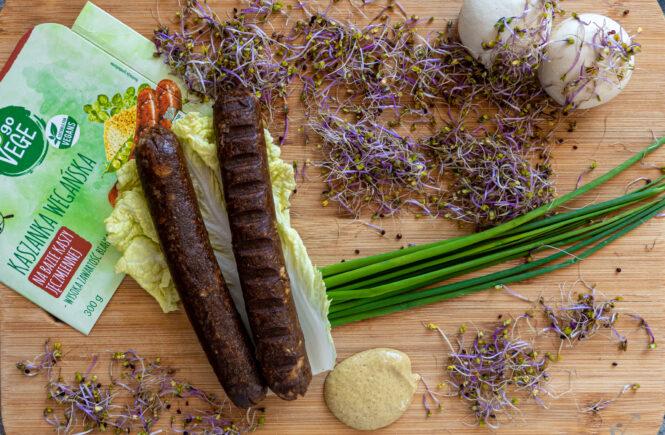 kaszanka wegańska a biedronki