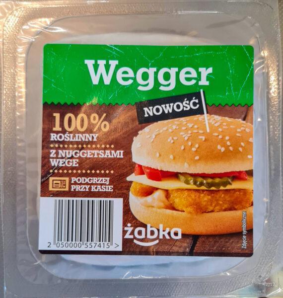 Żabka. Wegger roślinny burger