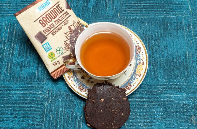 blog wegański Brownie wegańskie