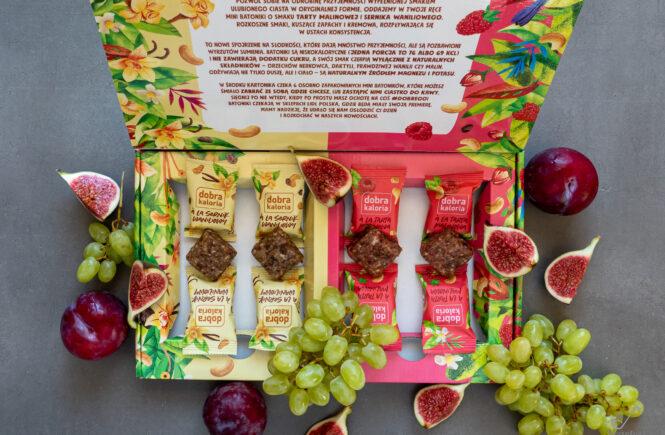 Mini batoniki dobra kaloria blog wegański